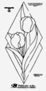 Free Double Diamond Tulip Bevel Pattern