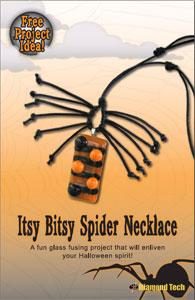Free Itsy Bitsy Spider Necklace Project Guide