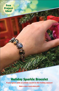 Free Holiday Sparkle Bracelet Project Guide