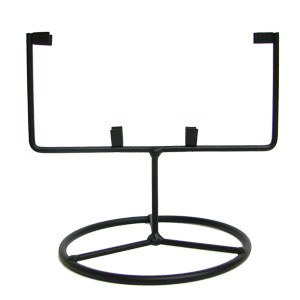 5-1/2 Square Wrought Iron Table Stand