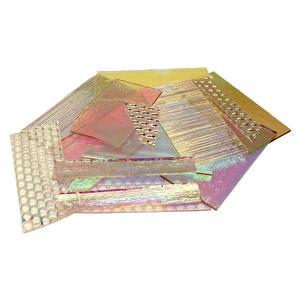 1/2 Lb DichroMagic Dichroic Scrap on Clear - 96 COE