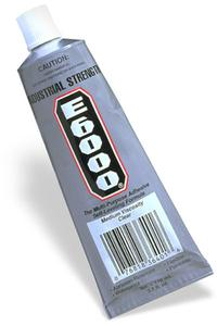 E6000 Adhesive - 3.7 Oz