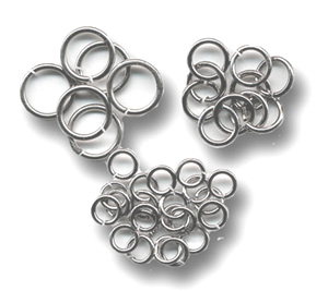 Silver Plated Jump Ring Assortment