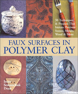 Faux Surfaces In Polymer Clay