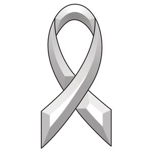 Awareness Ribbon Bevel Cluster