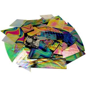 1 lb CBS Dichroic Pattern Scrap - 90 COE