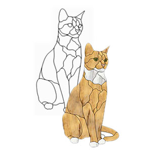 Cats & Dogs - Glass Crafters Stained Glass Supplies