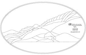Free Bird of Prey Bevel Panel Pattern