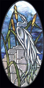 Free Heron Bevel Panel Pattern ( Faces Left)