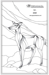 Free Large Deer Bevel Panel Pattern