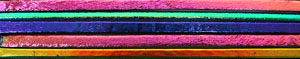 DichroMagic Dichroic on Thin Black Hot Stix 5 Pack - 90 COE