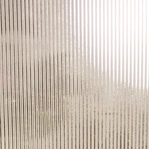 Clear Ribbed Stained Glass Sheets Textured Delphi