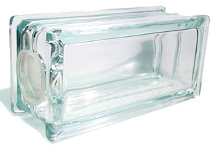 Kraftyblok rectangular glass block items to mosaic for Clear glass blocks for crafts
