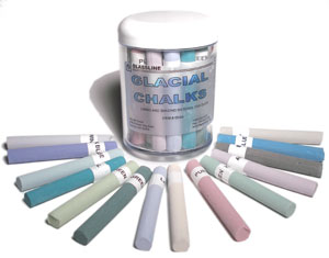 Glassline Glacial Chalk Assortment