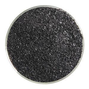 5 oz Stiff Black Opal Fine Frit- 90 COE