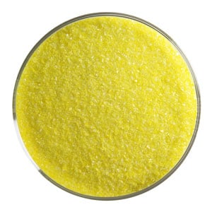 5 oz Canary Yellow Opal Fine Frit- 90 COE