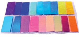 DichroMagic Color Sample Pack on Thin Black - 90 COE