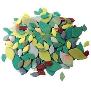 Wasser Pre-cut Nature Mix - 160 Pieces