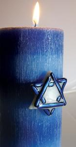 Free Star of David Candle Bling Project Guide