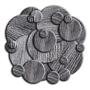 Midnight Circles Assortment - 40 Pieces