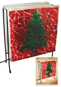 Free Christmas Tree Luminary Project Instructions