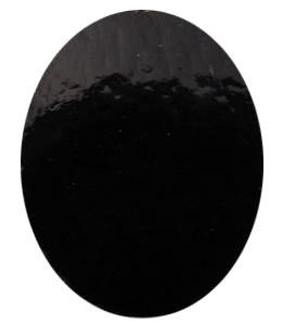 Pre-Cut Black Ovals 8 Pack - 90 COE