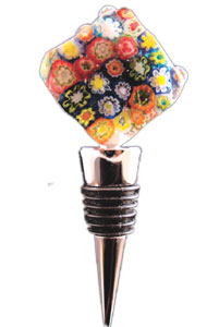 Free Millefiori Bottle Stopper Project Guide