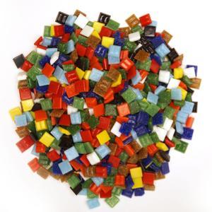 3/8 Venetian Glass Tile Value Assortment - 1 lb