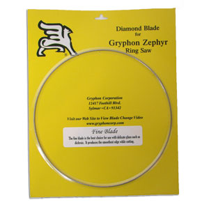 Zephyr Replacement Fine Diamond Blade