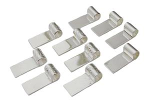 Silver Plated Tube Bail Assortment - 10 Pack