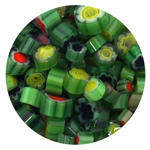 Green Millefiori - 90 Coe