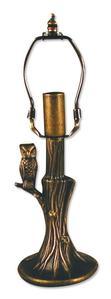 6-1/2 Tree Owl Lamp Base