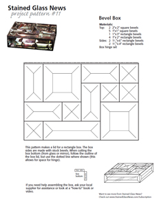 Free SGN Beveled Box Pattern More