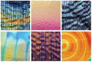 Dichromagic Micro Dichro Patterns On Thin Black - 96 Coe