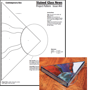 Free Contemporary Glass Box Pattern