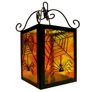 Free Spider Web Lantern Project Instructions