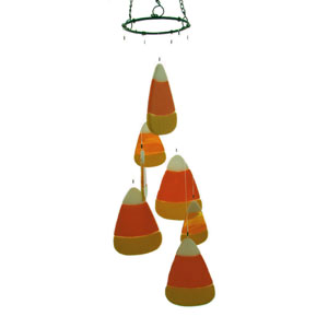 Free Candy Corn Wind Chime Project Instructions