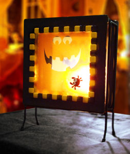 Free Pumpkin Head Lamp Project Instructions