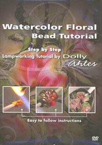 Watercolor Floral Bead Tutorial