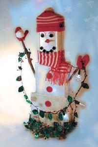 Free Silly Billy the Snowman Pattern