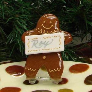 Gingerbread Place Card Holder Project Guide