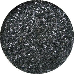 4 lb Aventurine Black Opal Medium Frit - 96 COE