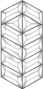 Simple Prairie Bevel Cluster
