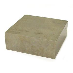 Steel Bench Block Delphi Glass