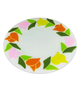 Free Spring Tulips Cake Plate Project Guide