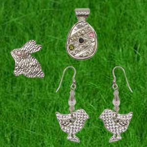 Free Fine Silver Egg-cessories Project Guide