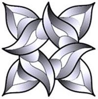 Petals Bevel Cluster