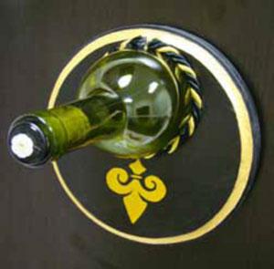 Free Recycled Bottle Fleur-de-Lis Project Guide