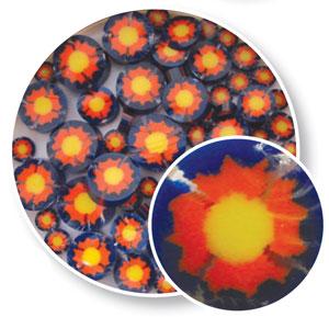 Yellow Sun Millefiori - 90 COE