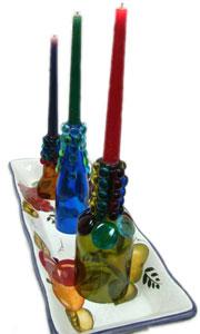 Tuscan Lights Candlesticks